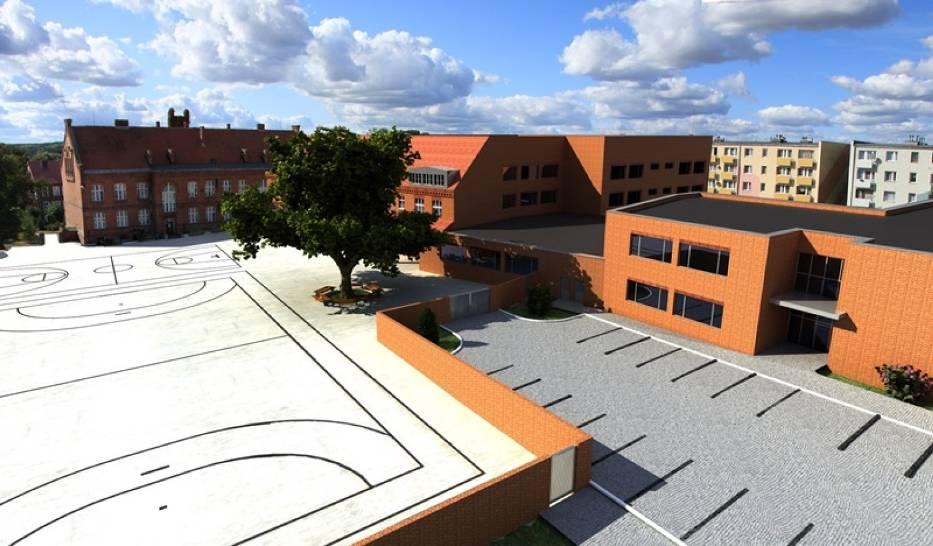 Ta koncepcja rozbudowy szkoły podstawowej w Gniewie została odrzucona