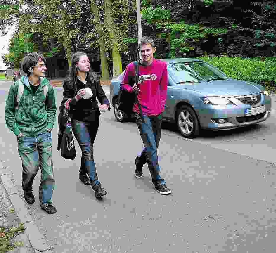 Studenci UKSW będą mieli do pokonania około 800-metrowy odcinek, by dojść na uczelnię