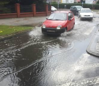 Utrudnienia na drodze po opadach deszczu