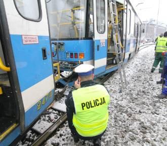 12 osób rannych w zderzeniu tramwajów (ZDJĘCIA, FILM)