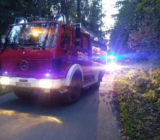Śmiertelny wypadek w Pomlewie. Nie żyje motocyklista!