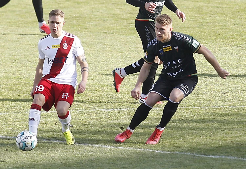 Zobaczcie blamaż ŁKS Łódź w meczu z GKS Tychy