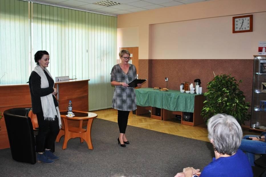 Spotkanie z pisarką Anną Brzezińską