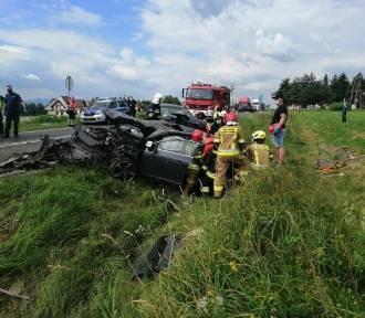 Wypadek na Podhalu. Cztery osoby zostały ranne [ZDJĘCIA]