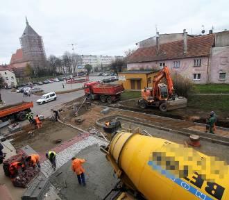 Sławno: Postęp remontu ul. Mickiewicza i przyległych uliczek [ZDJĘCIA, WIDEO]