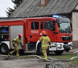 Pożar Wieluń Naszemiastopl