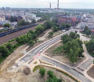 Nowa droga na Promenady Wrocławskie już otwarta [ZDJĘCIA]