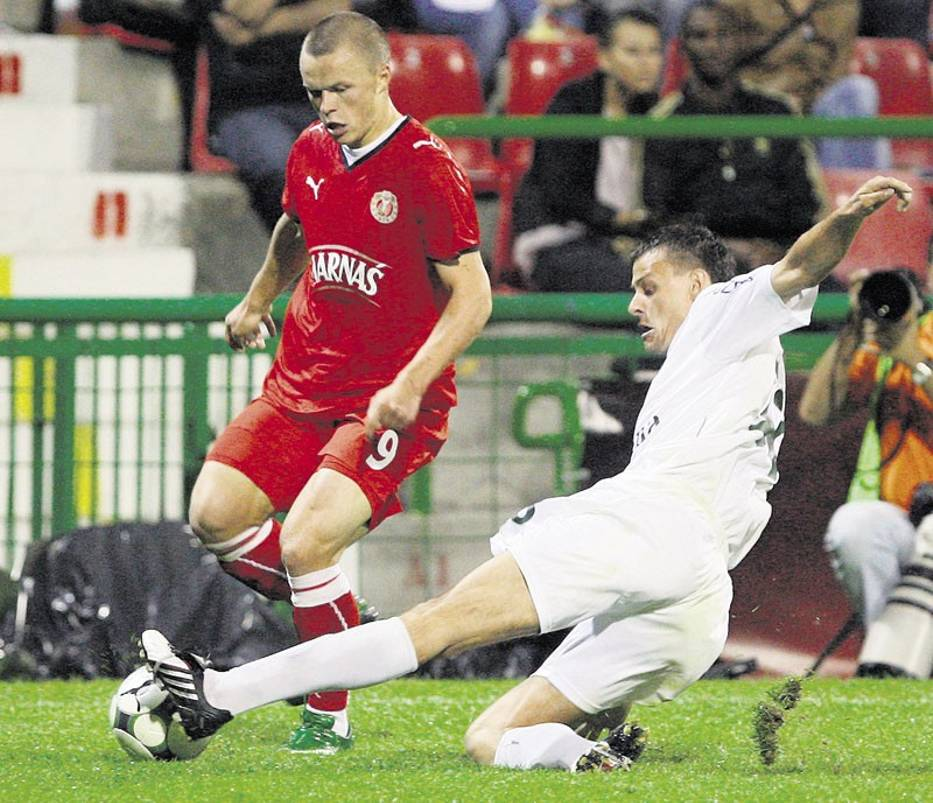 Litwin Darvydas Sernas w pucharowym meczu potwierdził, że warto dawać mu szanse