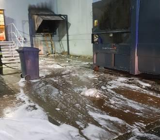 Tczew. Akcja strażaków w Kauflandzie oraz wypadek na Alei Kociewskiej [ZDJĘCIA]