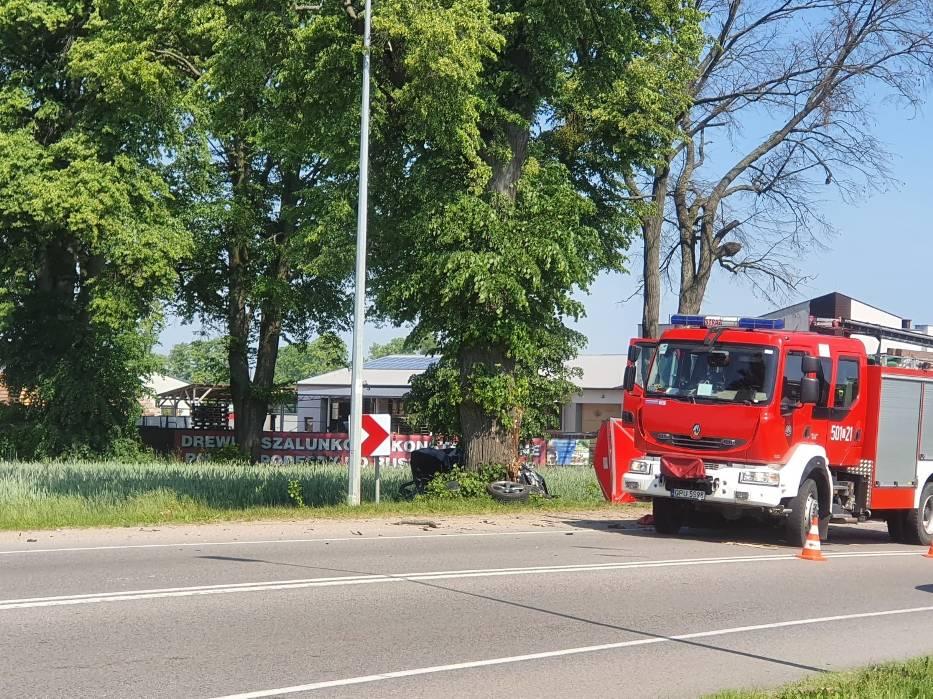 Śmiertelny wypadek w Rekowie (05.06.2019)