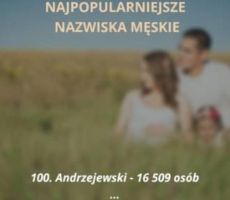 Sto najpopularniejszych nazwisk w Polsce [LISTA]