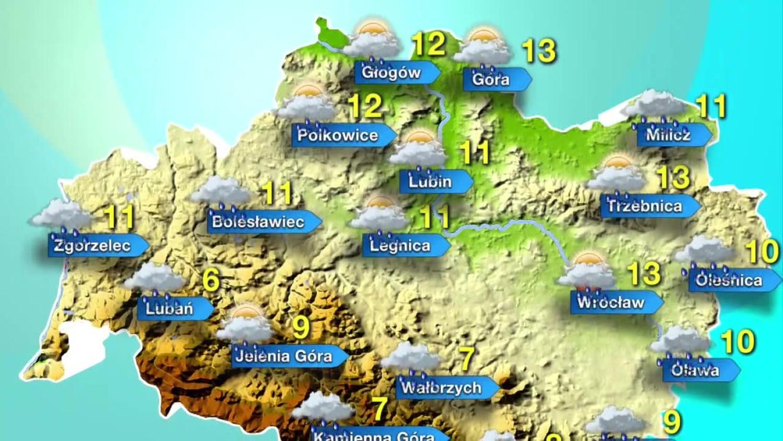 Pogoda Dolny Śląsk