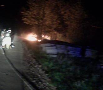 Dwa pożary samochodów na terenie powiatu sztumskiego - dbajmy o stan techniczny aut