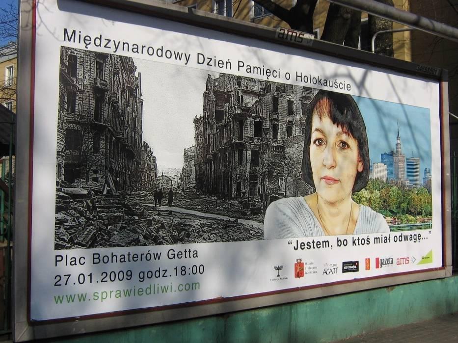 Międzynarodowy Dzień Pamięci o Holocauście obchodzono w Warszawie