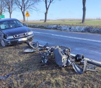 Tragiczny wypadek na trasie Żary-Bieniów. Kierujący skuterem był pod wpływem alkoholu