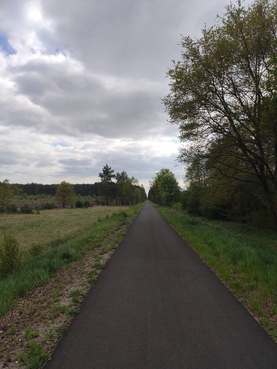 Kolej na rower - ścieżki rowerowe powiatu nowosolskiego