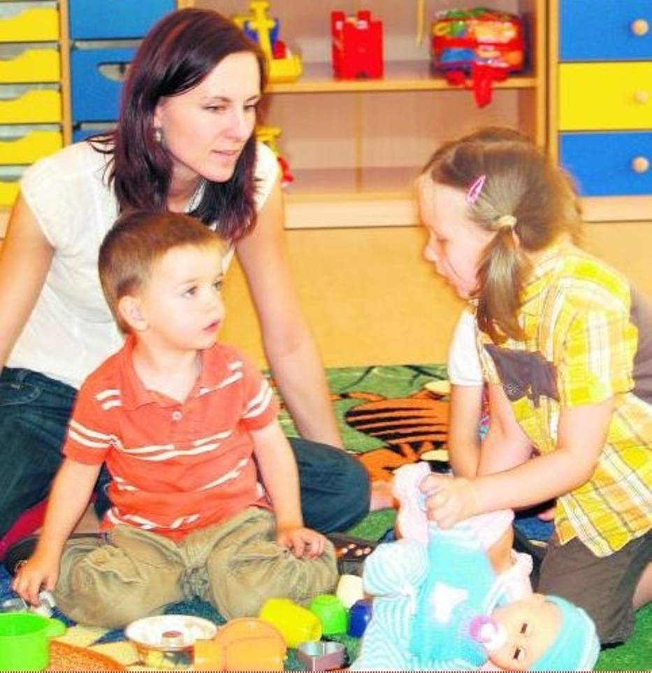 Dzieci w Zaczarowanym Parku zaznajamiały się już w sierpniu z opiekunkami i zabawkami