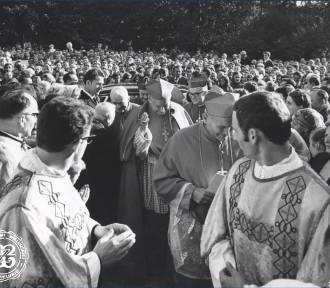 Wizyta kardynała Karola Wojtyły w Wieluniu. Wirtualna wystawa ARCHIWALNE ZDJĘCIA