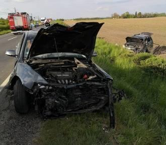 Gmina Trzemeszno: groźny wypadek na DK15 w Lubiniu