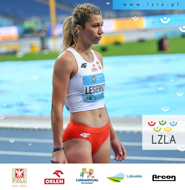 Kornelia Lesiewicz pobiegła w sztafecie jako pierwsza