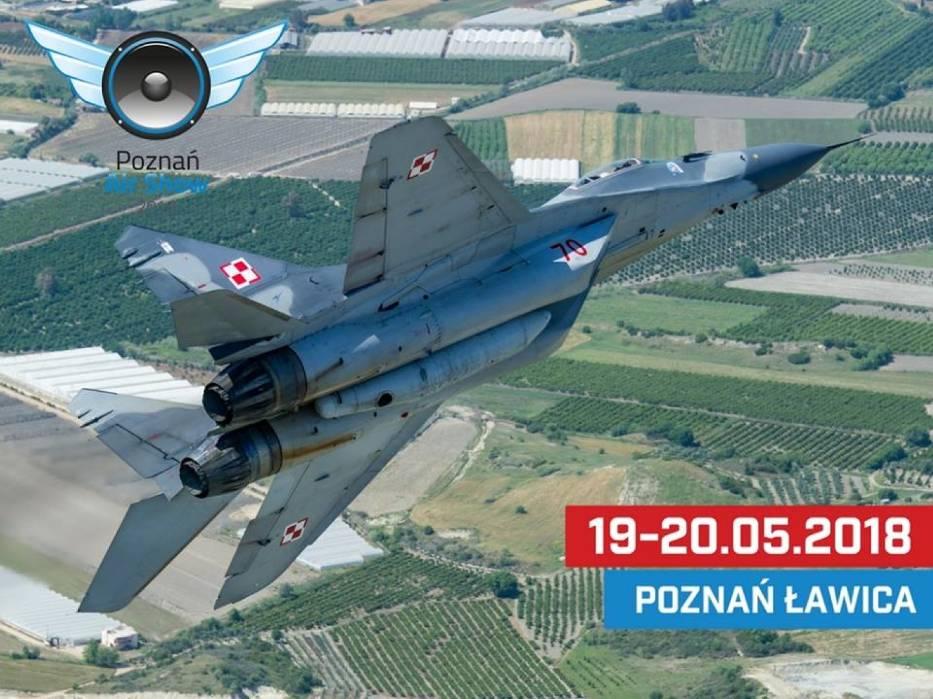 Imprezy w maju w Poznaniu - Poznań Air Show 2018