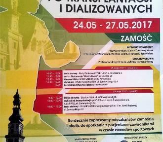 Zamość: XII Ogólnopolskie Igrzyska dla Osób po Transplantacji i Dializowanych