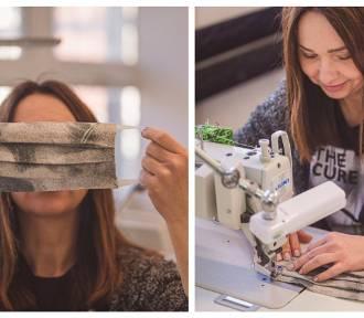 Foonka też szyje maseczki! Szczecińska marka pościelowa pomaga służbie zdrowia