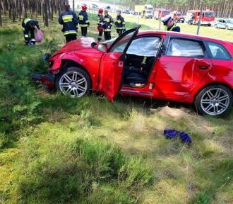 Poważny wypadek na A2 [ZDJĘCIA]
