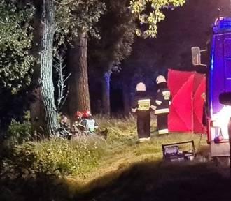 Tragiczny wypadek pod Wrocławiem. Kierowca spłonął w rozbitym samochodzie! [ZDJĘCIA]