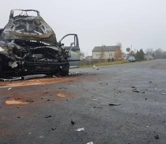 Biegły będzie analizować przebieg wypadku drogowego pod Poliksami, kierowca bmw nadal poszukiwany