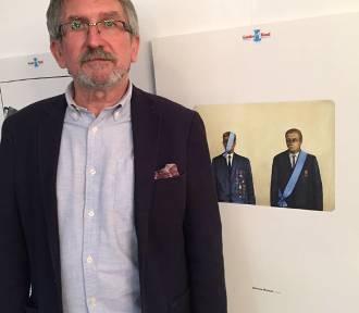 """Zbigniew Woźniak zdobył Grand Prix Międzynarodowego  Konkursu Rysunku Satyrycznego """"Karpik"""""""