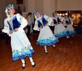 Białoruski zespół tańca ludowego wystąpił w łowickim muzeum [ZDJĘCIA]