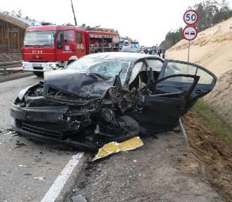Wypadek pod Ostródą. Zginęło dziecko [ZDJĘCIA]