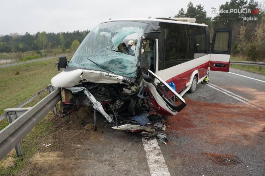 Wypadek w Mierzęcicach