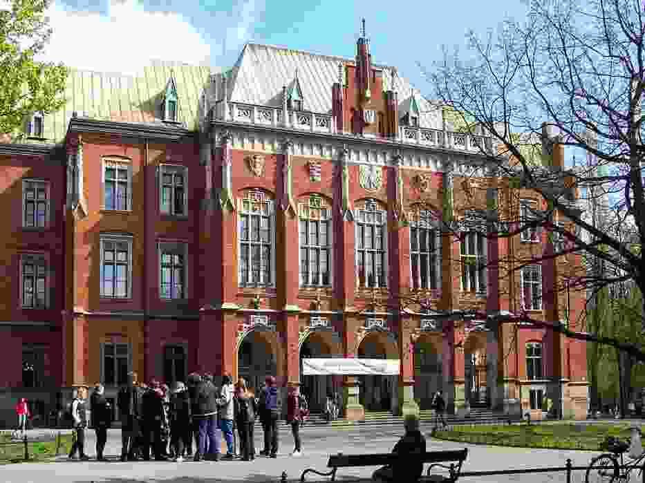 Fotografia ilustracyjna: Collegium Novum Uniwersytetu Jagiellońskiego w Krakowie