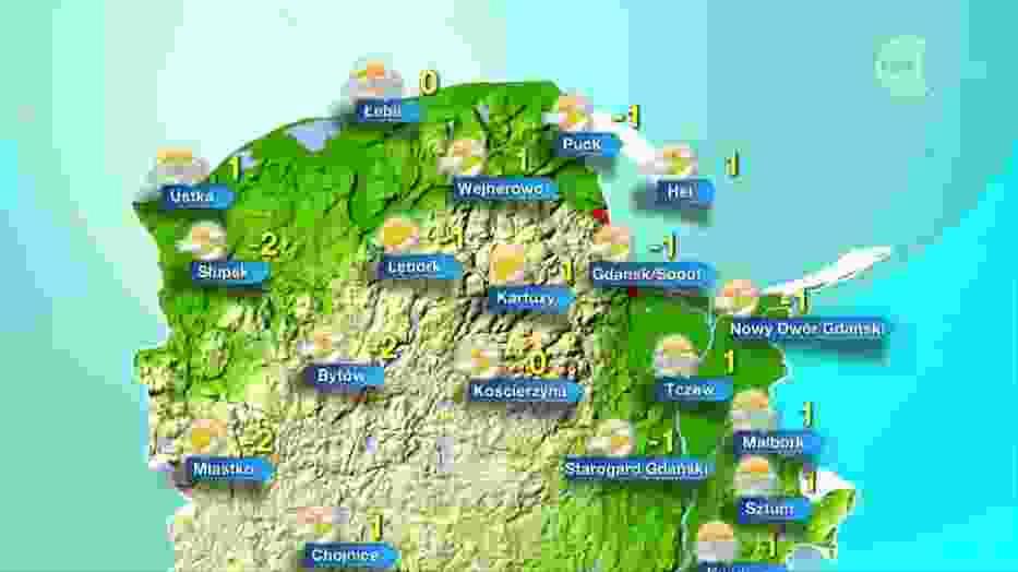Jaka będzie pogoda w piątek, 9 lutego 2018 (9