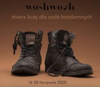 WoshWosh po raz trzeci zbiera obuwie dla bezdomnych