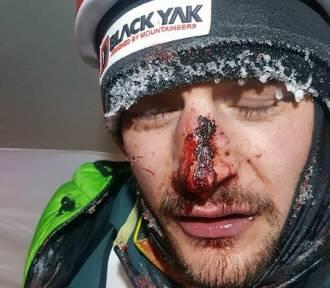 Adam Bielecki miał wypadek pod K2!