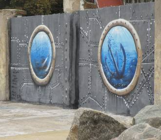 Murale w usteckim porcie z inicjatywy Alpha Team [ZDJĘCIA]