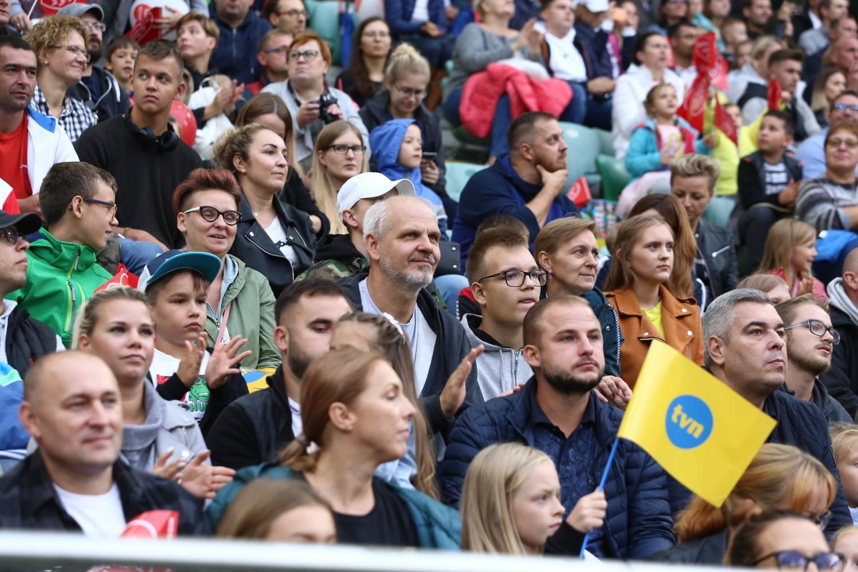 Wielki Mecz TVN vs WOŚP 2019. Gwiazdy na boisku i tłumy kibiców na trybunach [ZDJĘCIA]