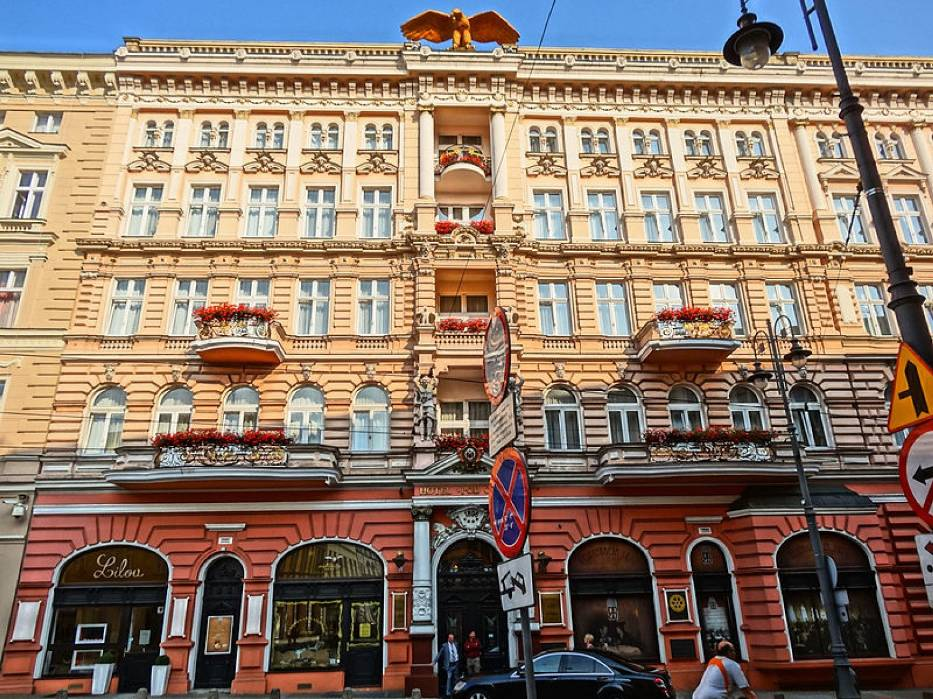 Innym popularnym miejscem jest także Hotel pod Orłem (Gdańska 14)