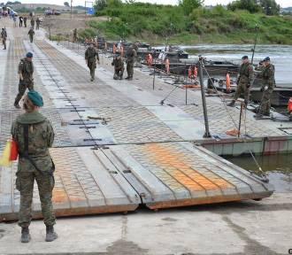 Wojsko rozebrało most pontonowy na Wiśle