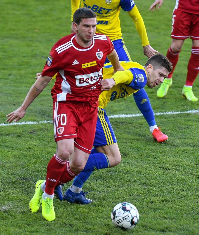 Arka Gdynia w półfinale Fortuna Pucharu Polski zmierzyła się z Piastem Gliwice