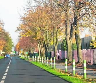 Nieoświetlony kawałek ścieżki niebezpieczny dla rowerzystów