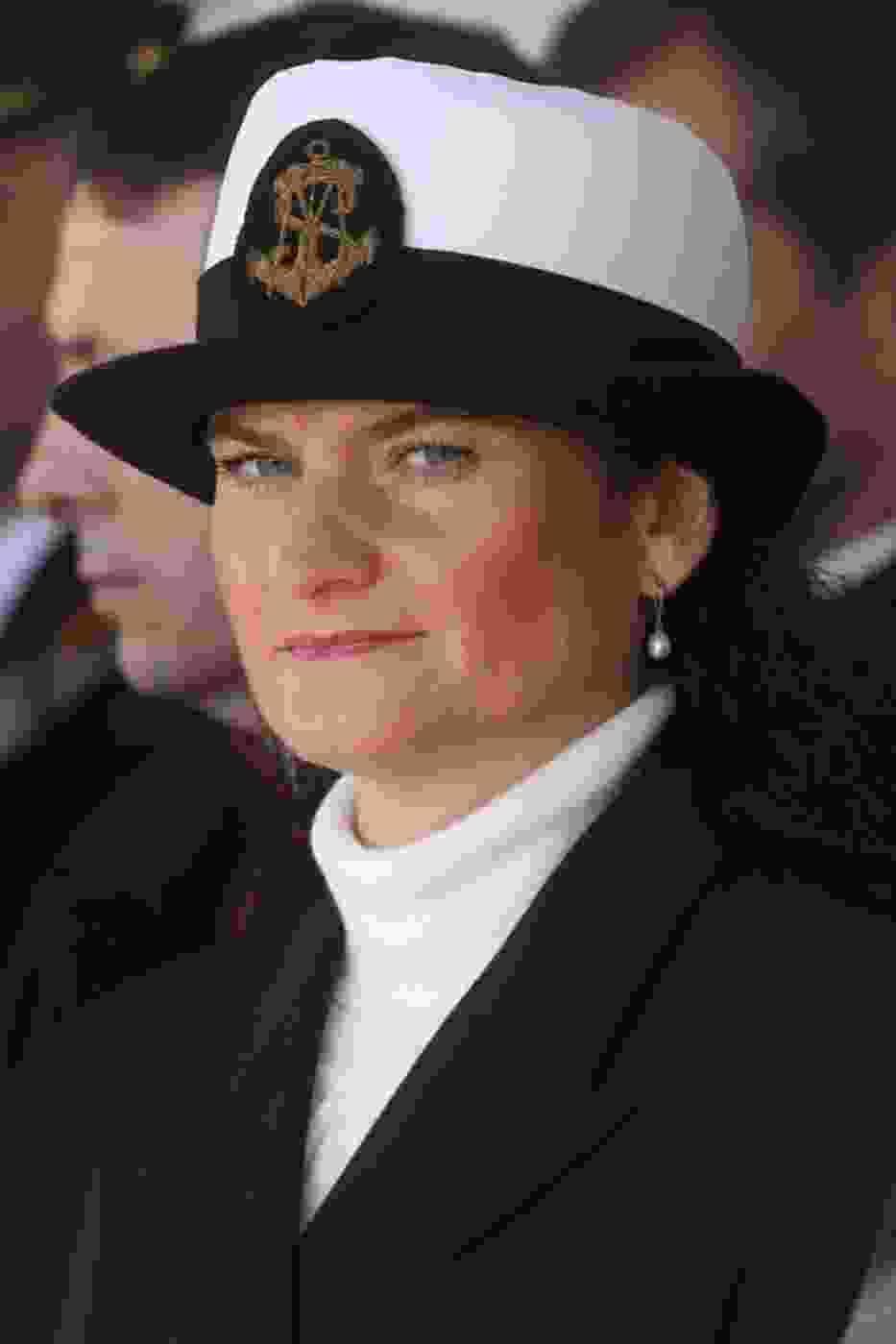 Dorota Arciszewska - Mielewczyk podczas inauguracji roku akademickiego Akademii Morskiej w Gdyni