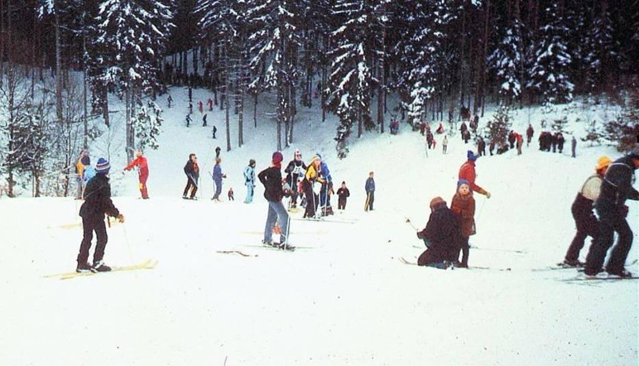 Górka Narciarza była świetnym miejscem, aby zacząć przygodę z tym zimowym sportem