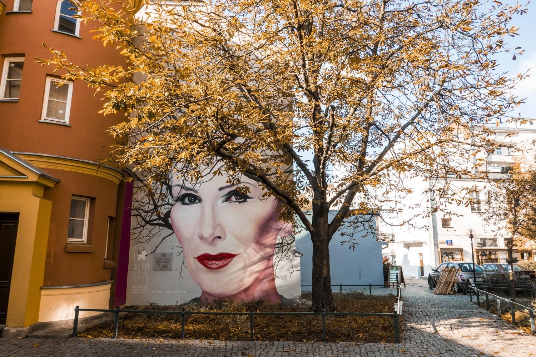Mural Kory w jesiennej odsłonie. Wygląda przepięknie! [ZDJĘCIA]