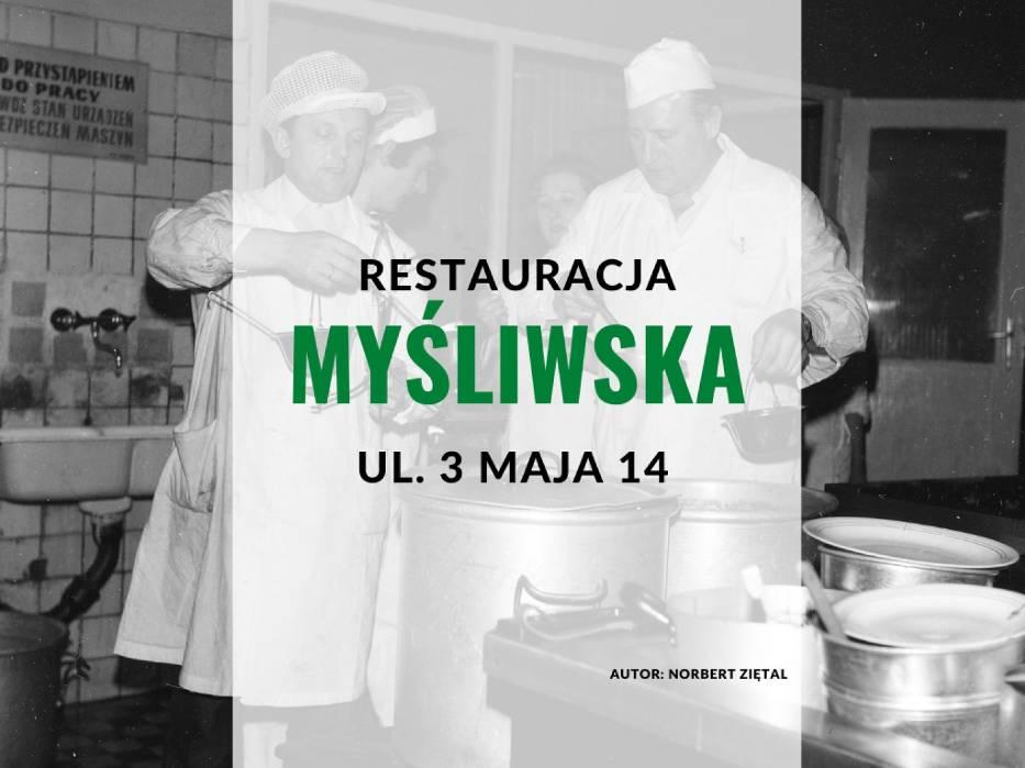 """Restauracja """"Myśliwska"""", ul"""