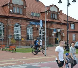 Dworzec PKP w Tucholi będzie gotowy w listopadzie 2021 r.