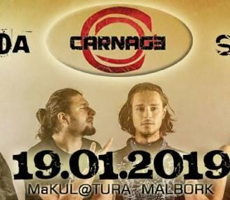 Malbork. Carnage, Propaganda i Sataran jednego wieczora w MaKUL@TURZE